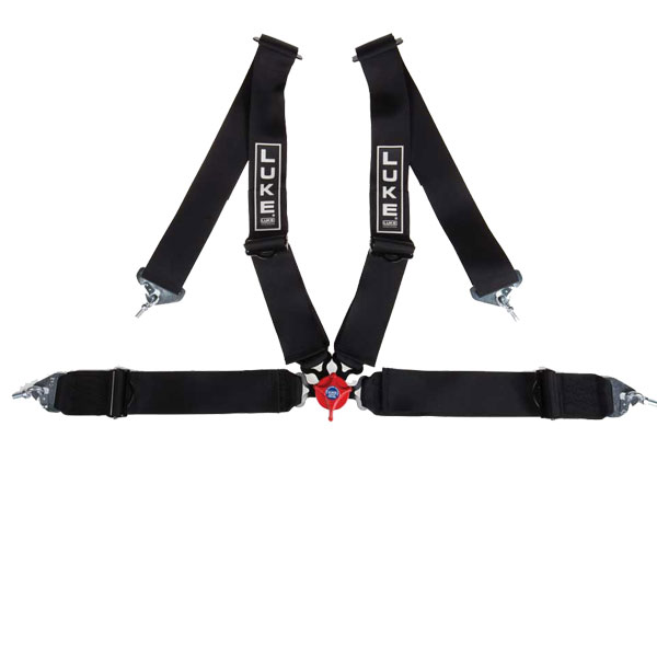 Corbeau Black 4-point Racing Harness