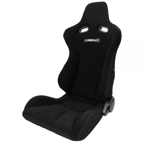 Corbeau Evo RB Reclining Bucket Seat in Black