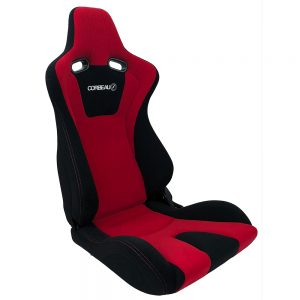 Corbeau Evo RB Reclining Racing Seat in Red