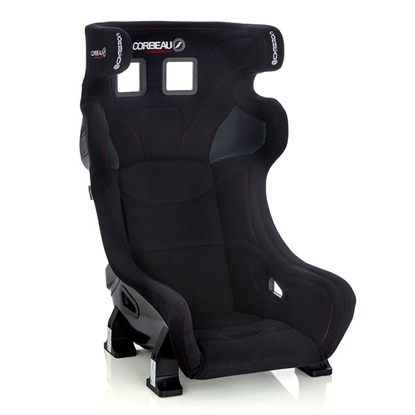 Corbeau Predator Advanced Racing Bucket Seat for Motorsport in Black