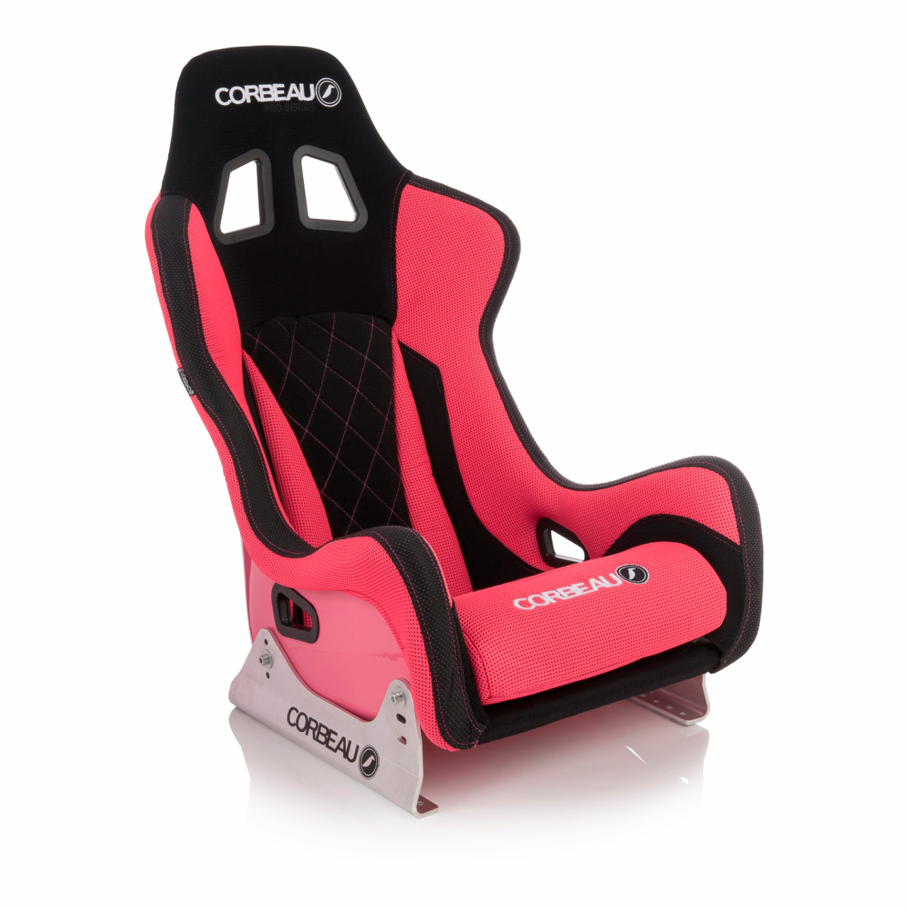Corbeau Pro-Series X Elite Racing Seat with Red/Black Elite Upgrade