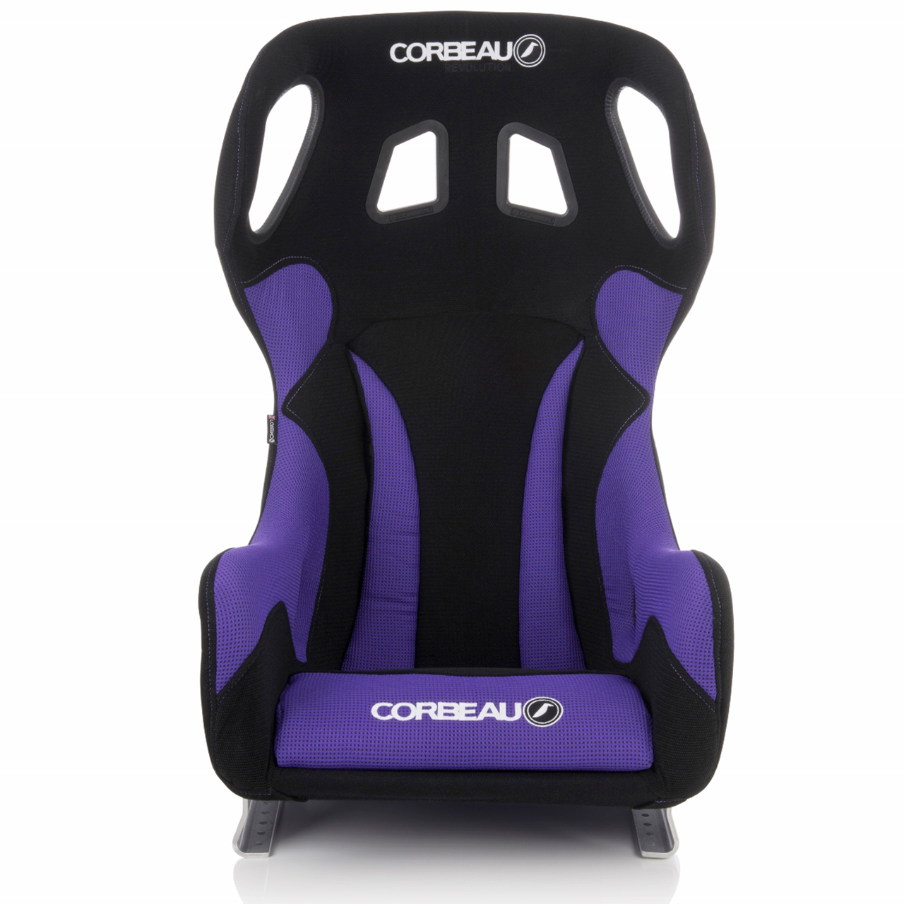Corbeau Revolution X Bucket Seat with Black/Purple Elite Upgrade