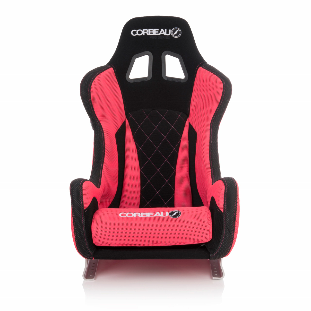 Corbeau Pro-Series X Bucket Seat with Red Elite Upgrade