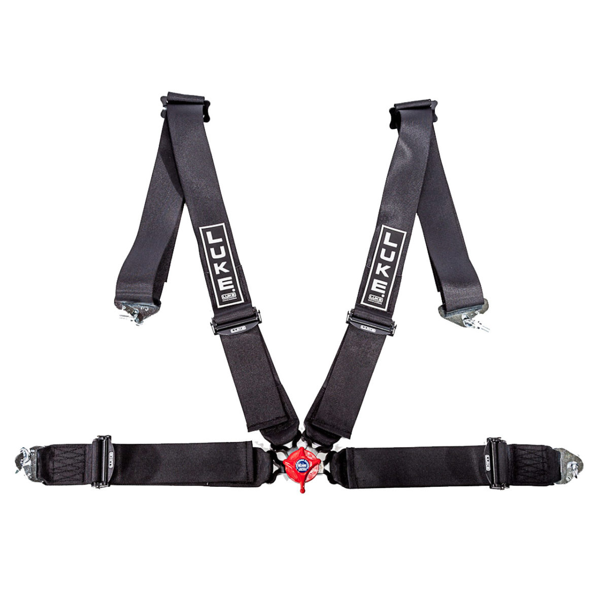 LUKE 4-Point Racing Harness in Black (2004)