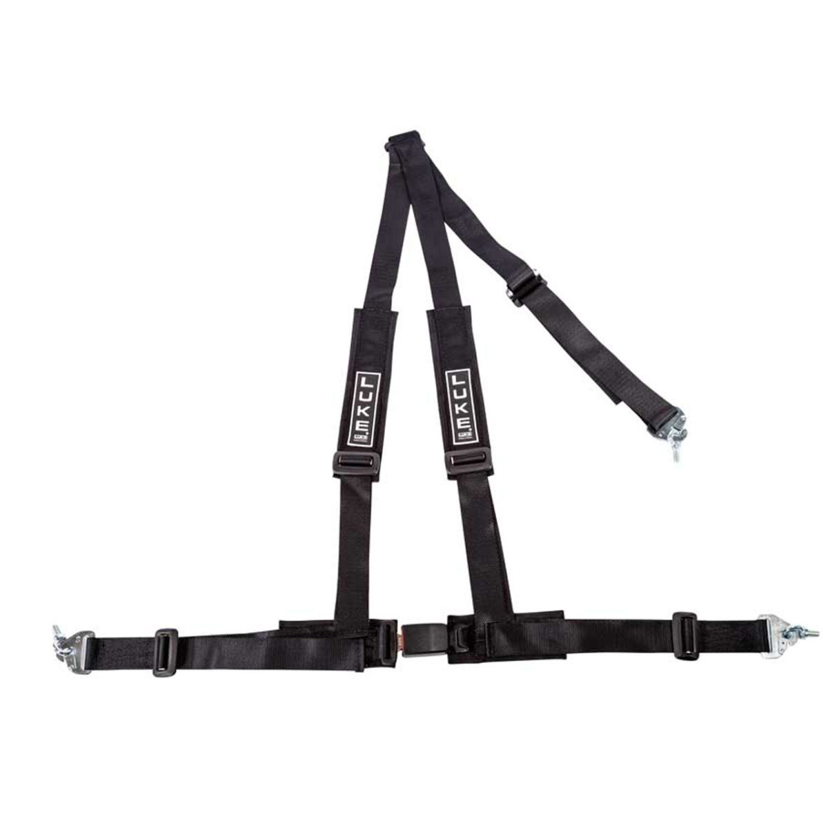 LUKE 3 Point Harness in Black - Racing Harnesses