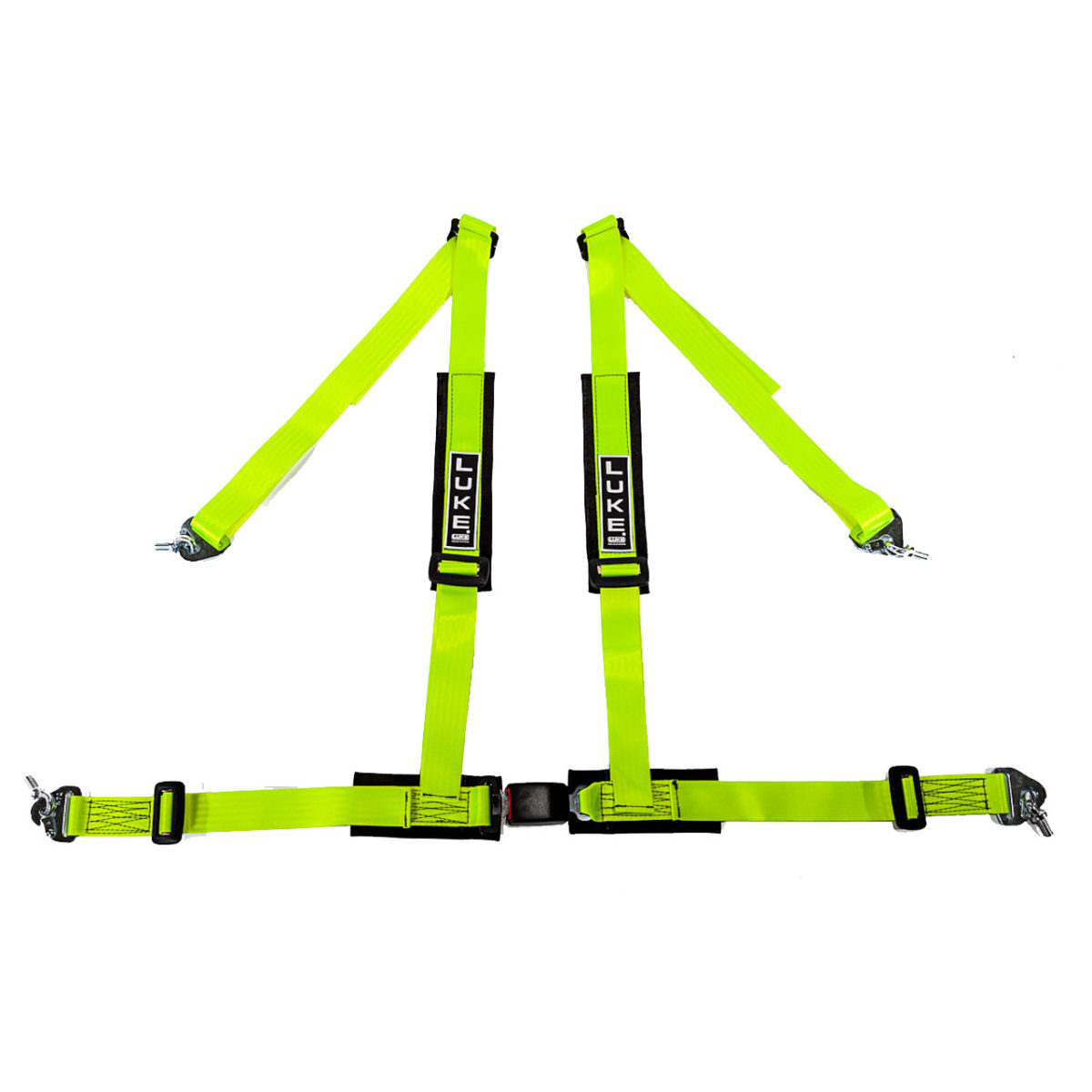 LUKE 4 Point Harness in Yellow