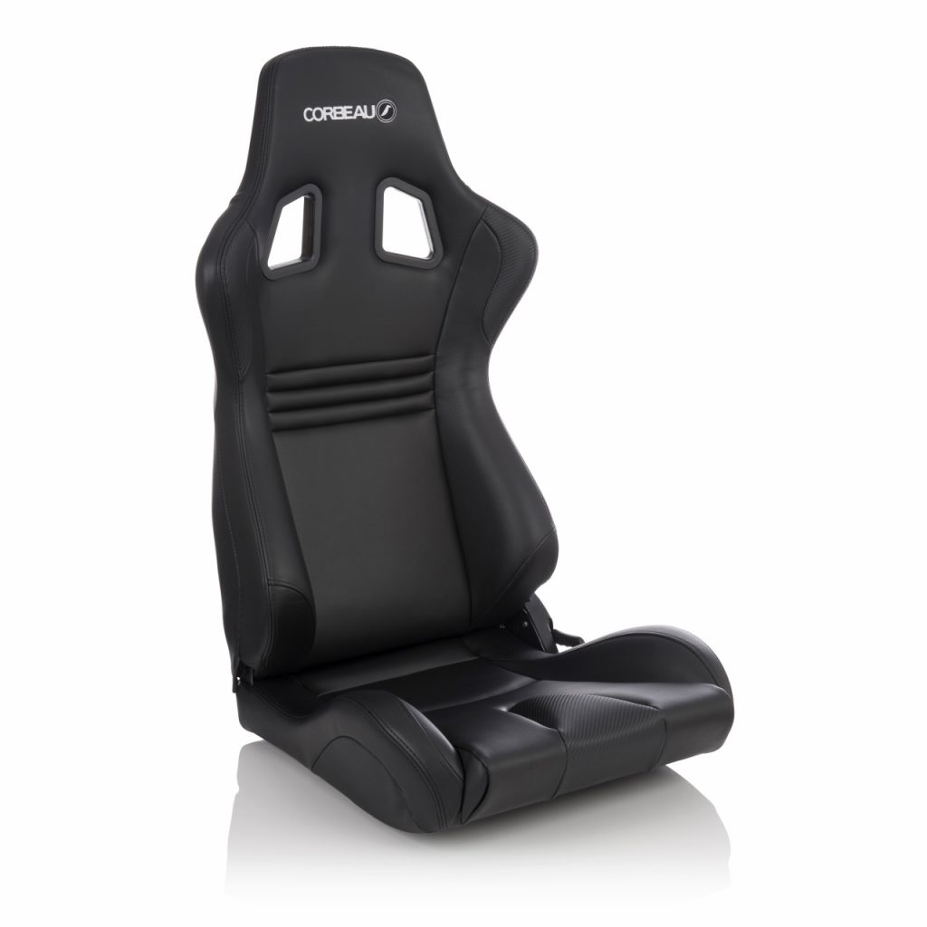 Corbeau Boss Evo 2 Reclining Racing Seat In Black