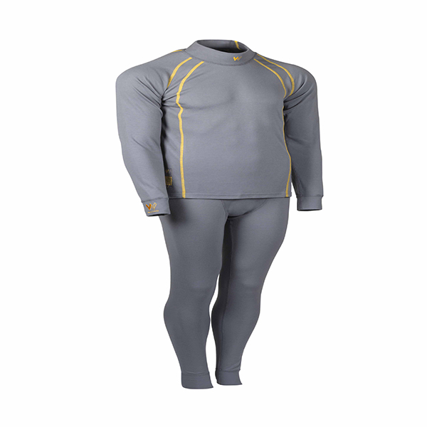 Walero Fireproof Racewear Underwear, Top Leggings in Cool Grey - Motorsport Clothing