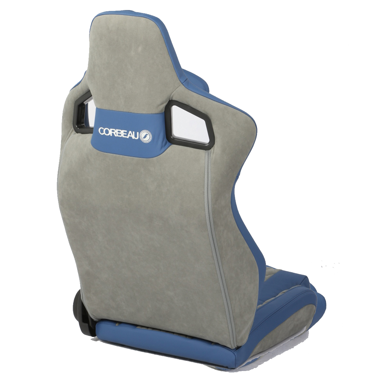 Corbeau Sportline RRS Reclining Race Seat in Blue and Grey (Custom Elite Upgrade)