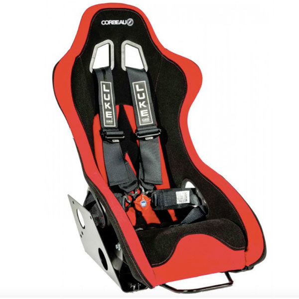 Corbeau Ariel Atom Kit Bucket Seat with LUKE Harnesses - for Gen 1/Gen 2 Atoms