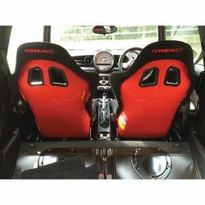 Pair of Custom Designed Corbeau Sprint X Bucket Seats - Elite Upgrade