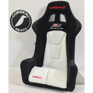 Corbeau Seats Custom Elite Upgrade Pro-Series Example in Black and White