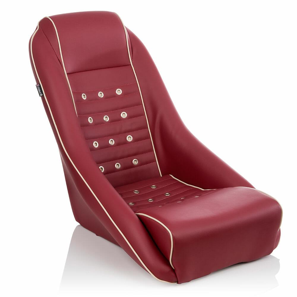 Corbeau Custom Seat - GT4 Retro Seat in Red