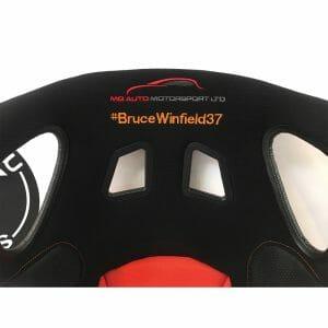 Bruce Winfield Corbeau Custom Bucket Seat