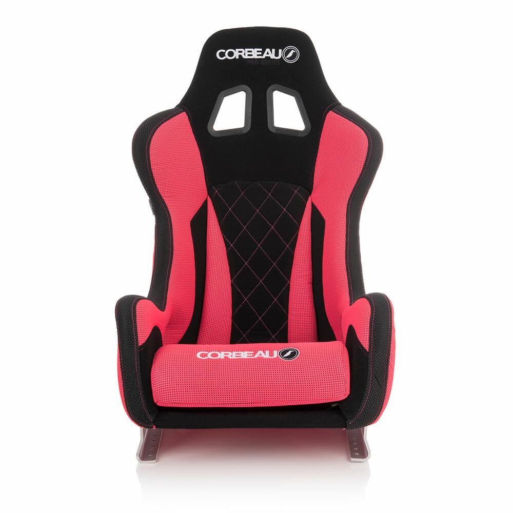 Corbeau Pro Series X Custom Racing Seat - front view