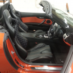 Orange Sports Cars with Custom Corbeau RRS Bucket Seats