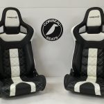 Corbeau RRS Elite Upgrade in Custom Black/Cream Design