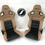 Pair of Corbeau RRS Custom Reclining Bucket Seats