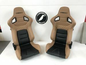 Pair of Corbeau RRS Custom Reclining Bucket Seats