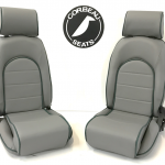 Corbeau Sportsman Classic Bucket Seats with Elite Upgrade