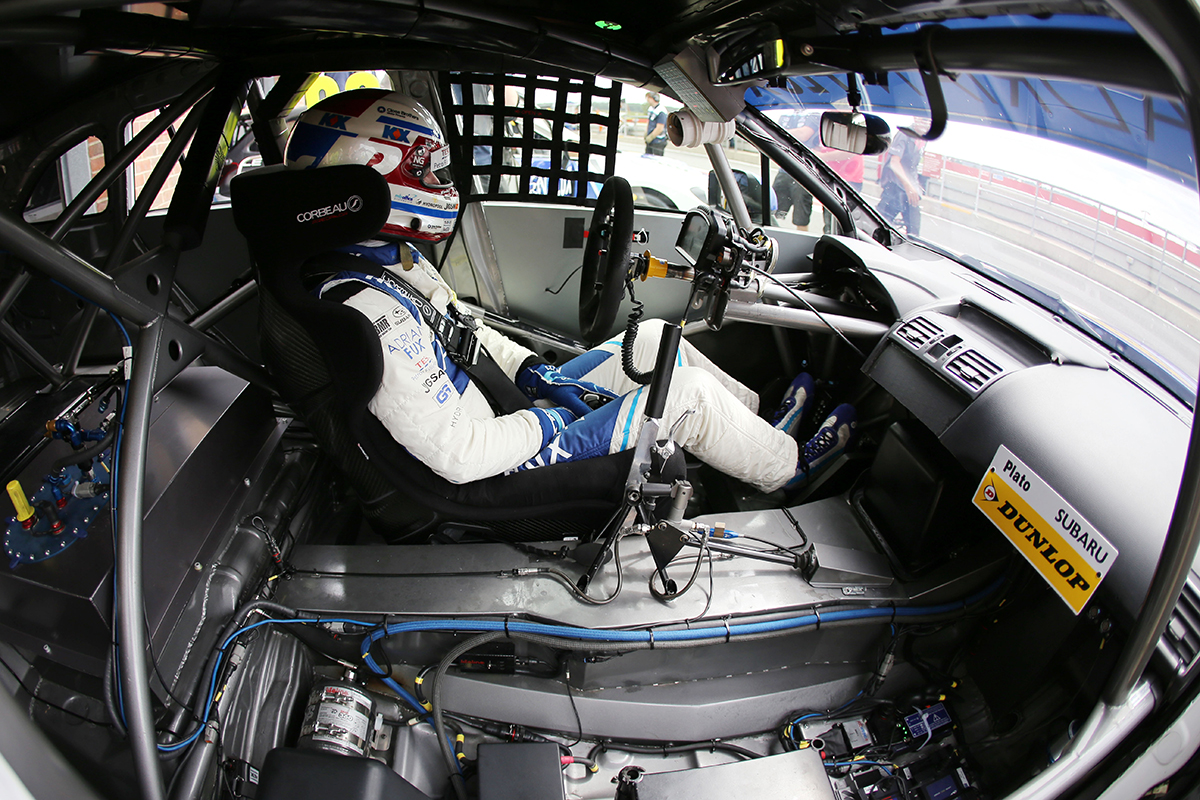 Ash Sutton Race Driver in Corbeau Seat