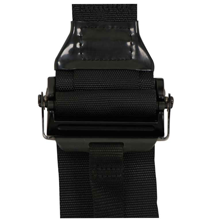 Race Harness Slide Adjuster Strap Close Up - Corbeau Seats