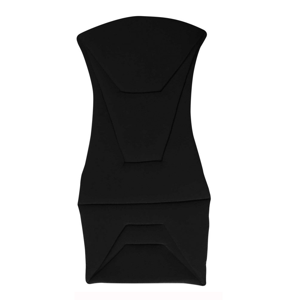 Corbeau Bucket Seat Cushion set in Black