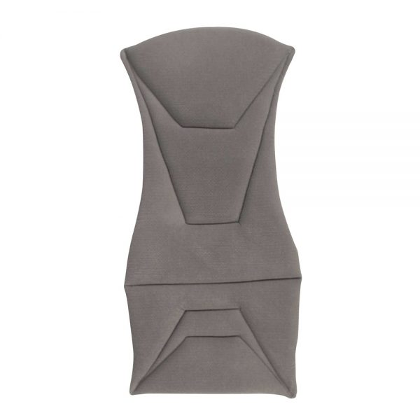 Corbeau Bucket Seat Cushion in Grey