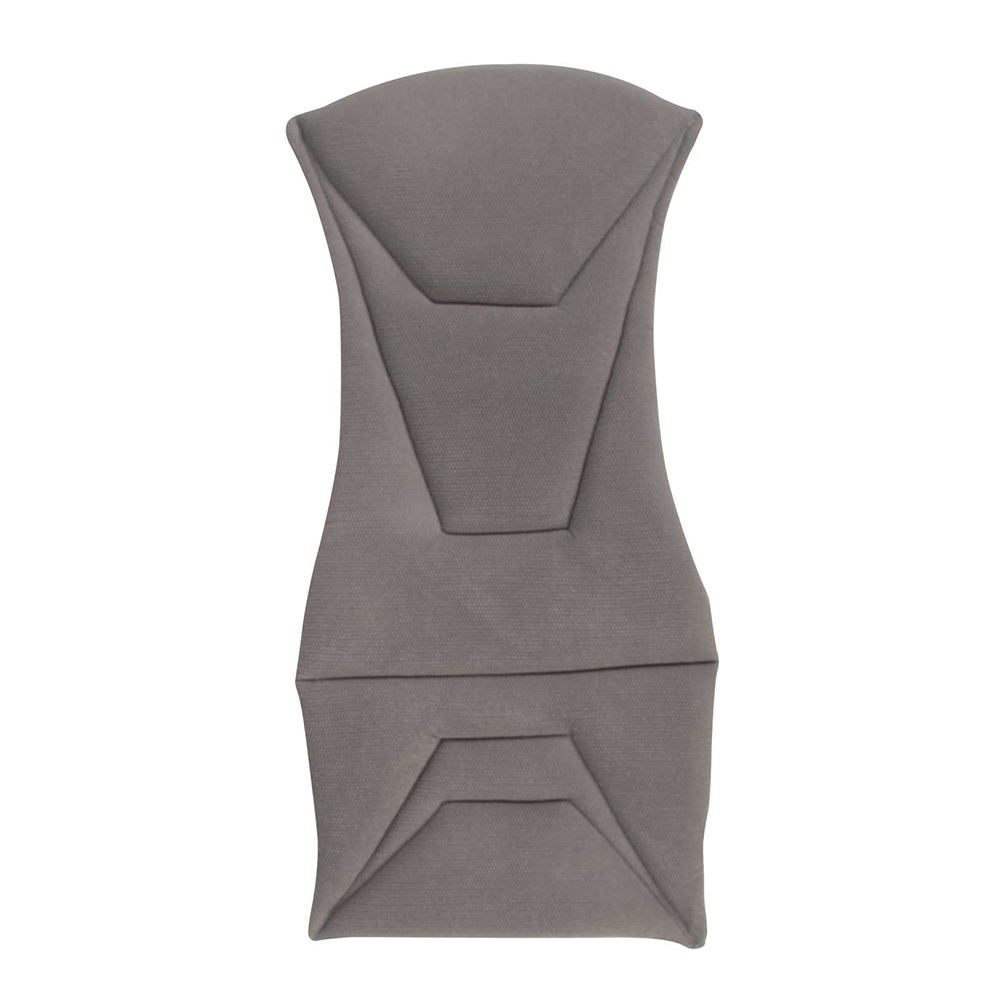 Corbeau Bucket Seat Cushion in Grey