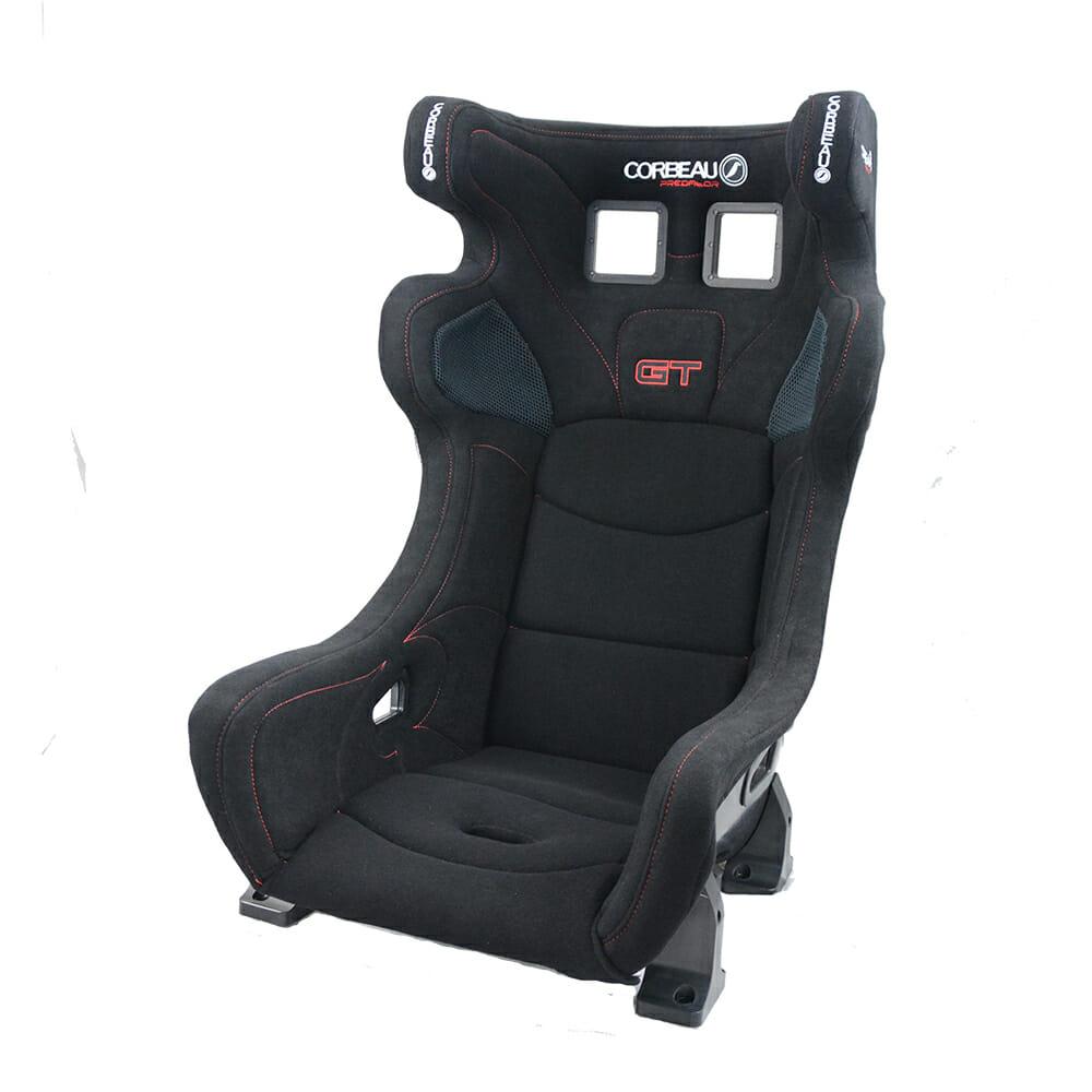 Corbeau Predator GT FIA Bucket Seat - Side View