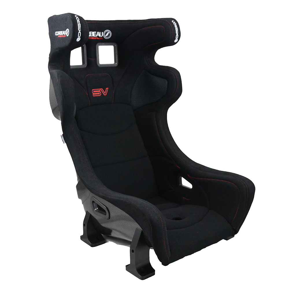 Corbeau Predator SV Bucket Seat - Side View - FIA Approved