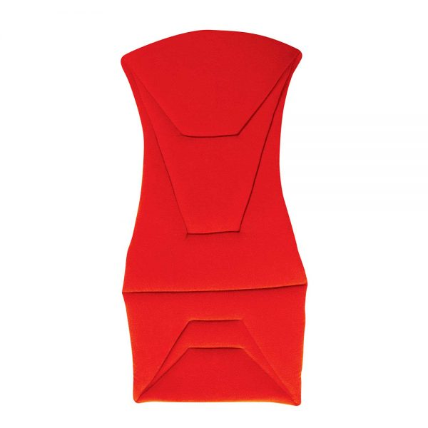 Corbeau Bucket Seat Cushion Set in Red