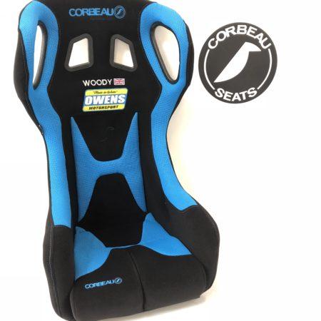 Blue & Black Revolution Custom Racing Seats by Corbeau Seats