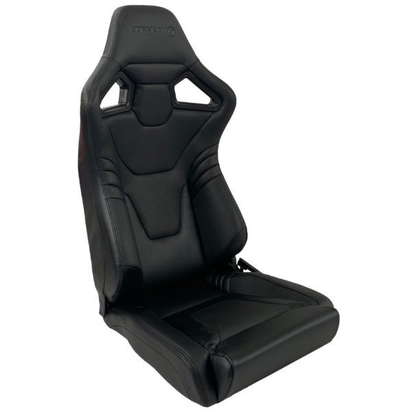 Corbeau Sportline RXI Elite Low Base Reclining Bucket Seat in Black