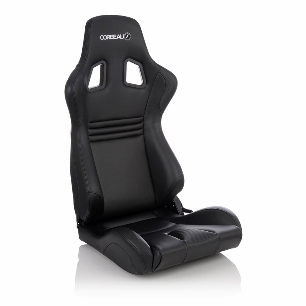 Corbeau Boss Evo 2 Reclining Bucket Seat in Black