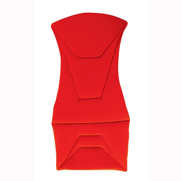 Corbeau Red Cushion Set for Bucket Seat