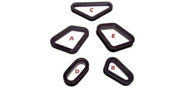 Corbeau Seat Grommits - Race Seat Accessories