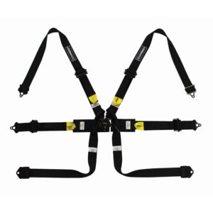 Corbeau 6 Point FIA Harness in Black