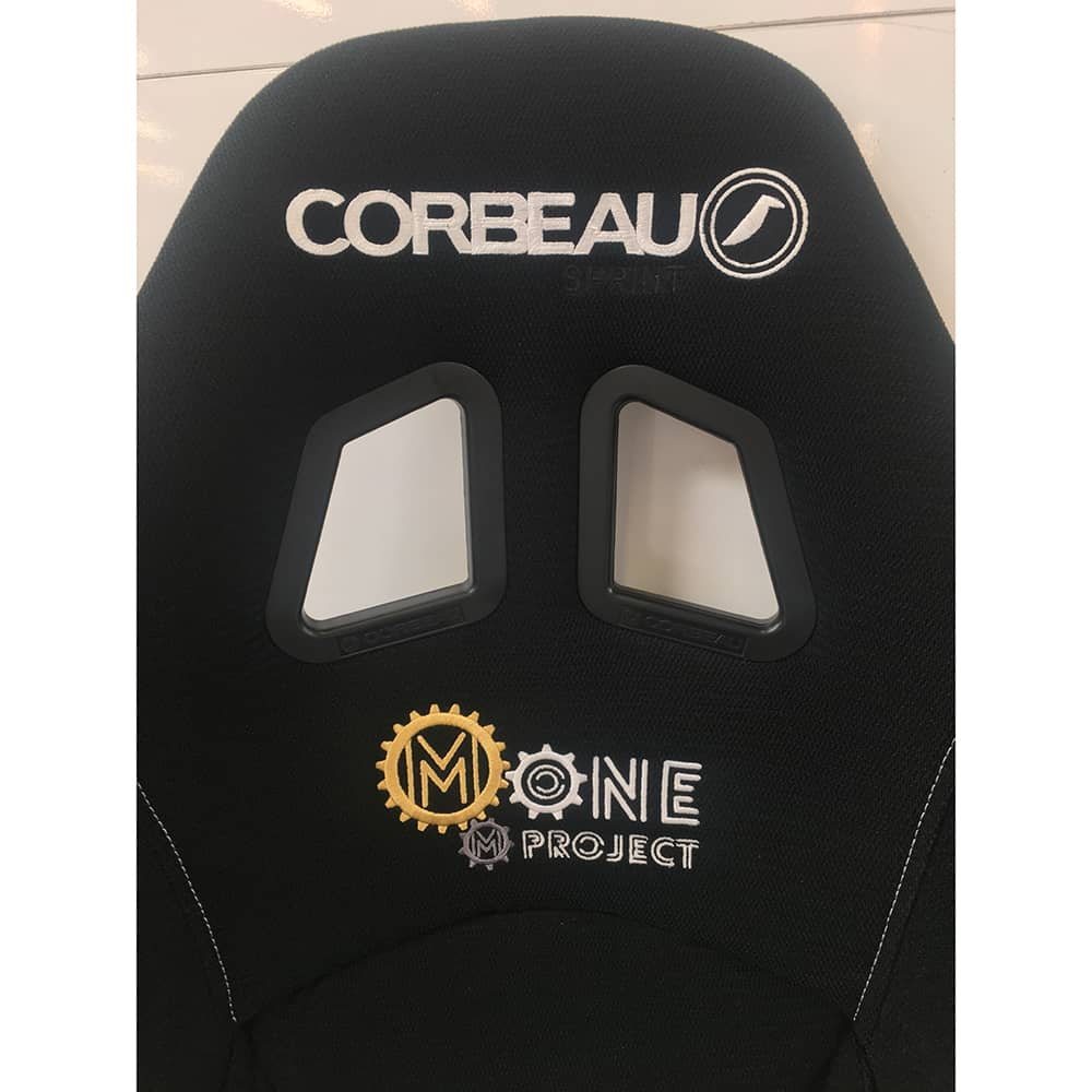 Corbeau Custom Sim Racing Seat for Mone Project | Gaming Seats