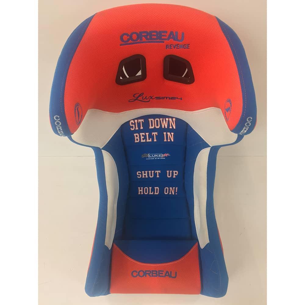 Corbeau Gaming Seat with custom design | Corbeau Gaming Seats